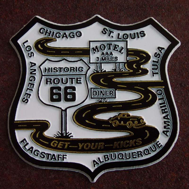 画像1: マグネット ルート66 ロード Route 66