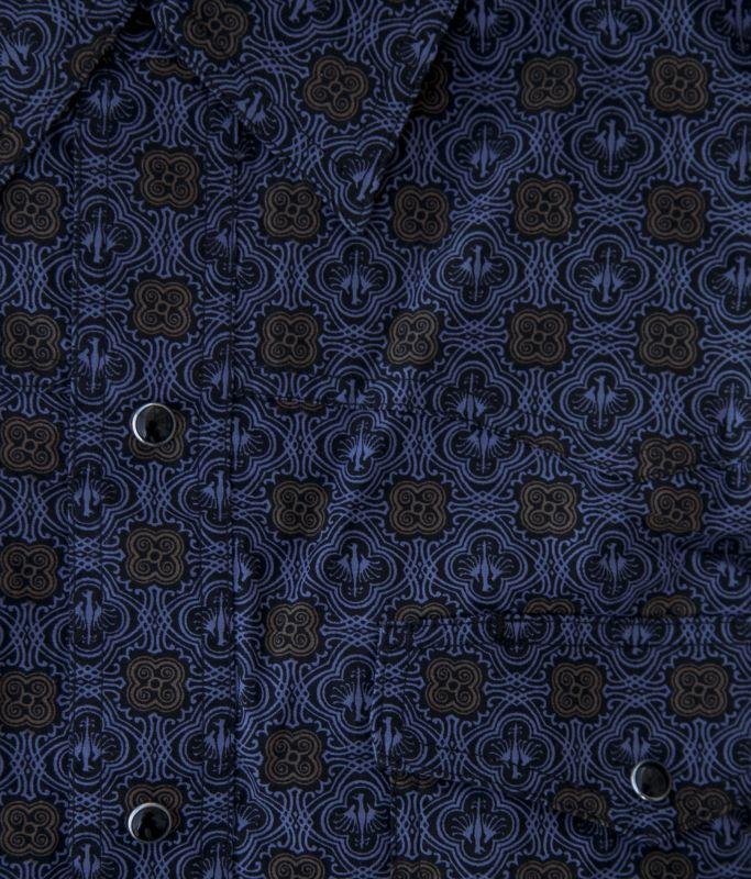 画像2: ローパー イーグル メダリオン ウエスタンシャツ(ブラック)S/Roper Long Sleeve Western Shirt