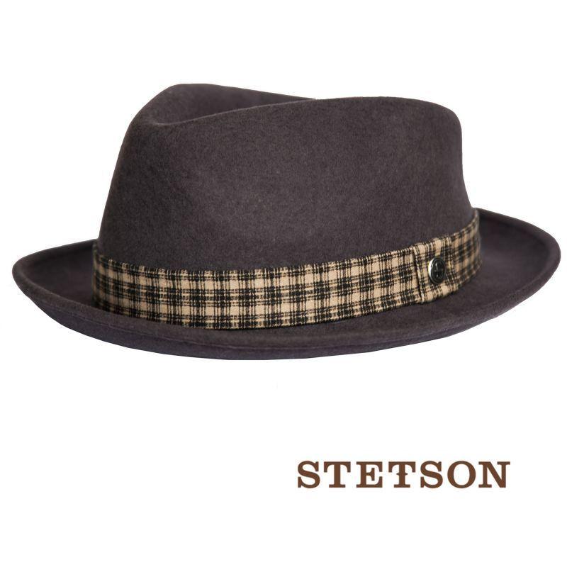 画像2: ステットソン ウール フェドラ ハット(グレー)/Stetson Wool Fedora Hat