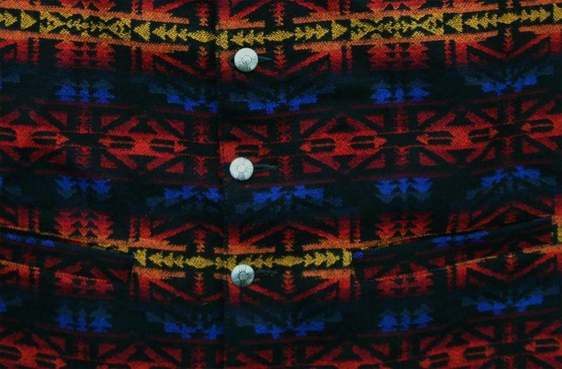 画像2: ペンドルトン U.S.A ヴァ-ジン ウール ベスト(ブラック・ブルー・バーガンディー)L/Pendleton U.S.A Virgin Wool Vest(Black/Blue/Burgundy)