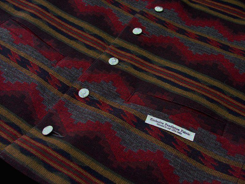 画像2: ペンドルトン U.S.A ヴァ-ジン ウール ベスト(ブラウン・グレー)/Pendleton U.S.A Virgin Wool Vest Pinetop(Brown/Grey)
