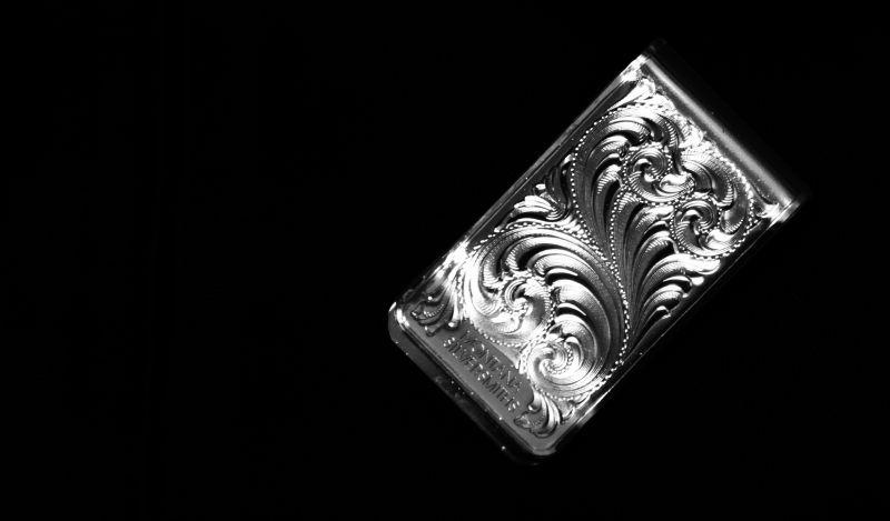 画像2: モンタナシルバースミス マネークリップ シルバー フィリグリー/Montana Silversmiths Money Clip Filigree scroll pattern