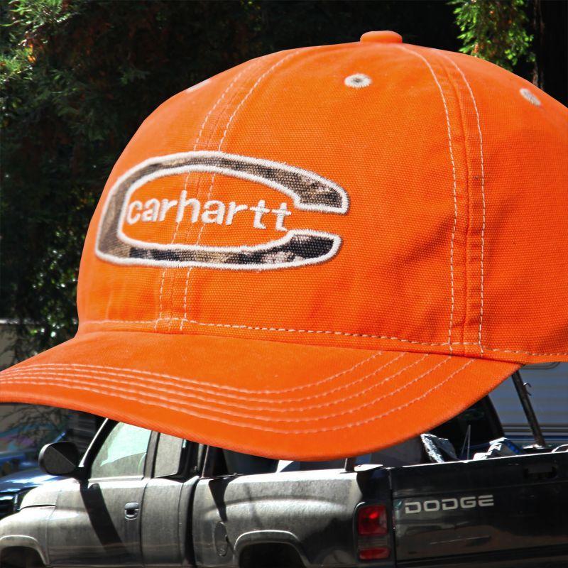 画像3: カーハート ロゴ キャップ(ブレイズオレンジ)/Carhartt Baseball Cap(Blaze Orange)