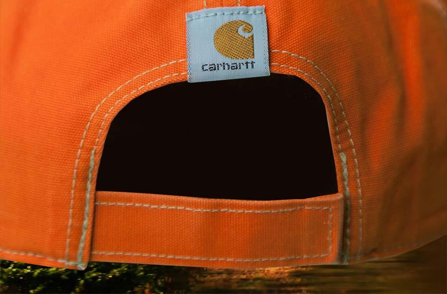 画像4: カーハート ロゴ キャップ(ブレイズオレンジ)/Carhartt Baseball Cap(Blaze Orange)