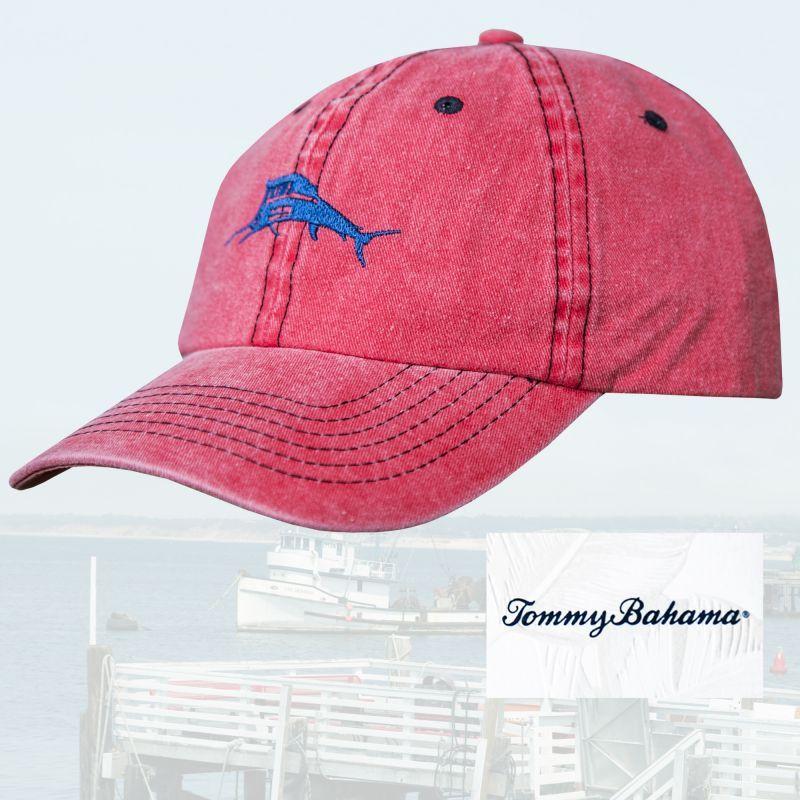 画像1: トミーバハマ キャップ(ウォッシュツイルレッド)/Tommy Bahama Baseball Cap