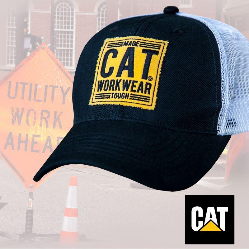 画像1: CAT キャタピラー キャップ(ブラック)/Caterpillar Baseball Cap(Black)