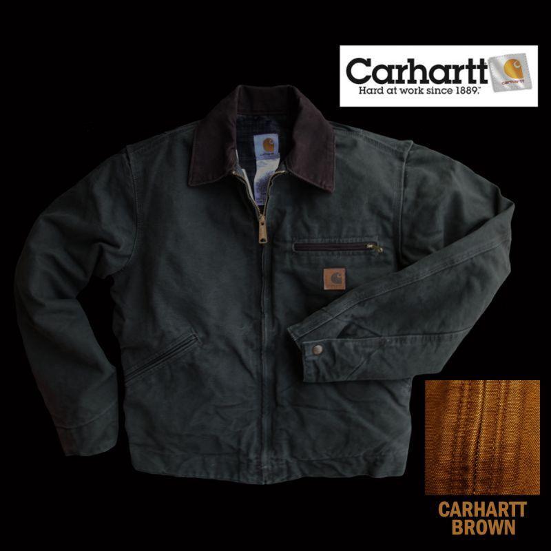 画像1: カーハートデトロイトジャケット(カーハートブラウン)M/Carhartt Detroit Jacket