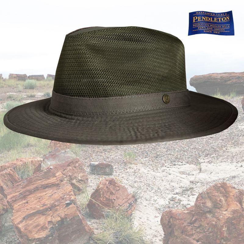 画像2: ペンドルトン クラッシャブル ブリーザーハット(グリーン)M/Pendleton Breezer Hat(Green)