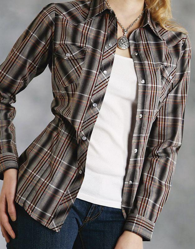 画像2: ローパー ウエスタンシャツ マルチ(長袖/レディース)/Roper Long Sleeve Western Shirt(Women's)