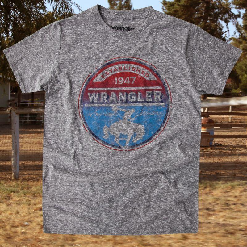 画像1: ラングラー ウエスタン Tシャツ ロデオ(半袖)/Wrangler T-shirt