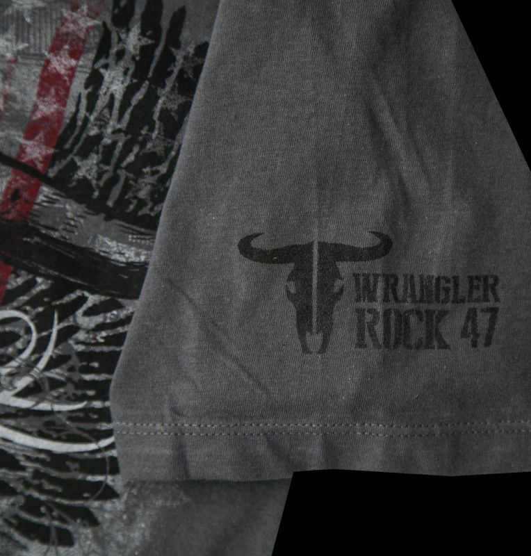 画像4: ラングラー ロック47 ウエスタン Tシャツ ロングホーン(半袖)/Wrangler Rock 47 T-shirt