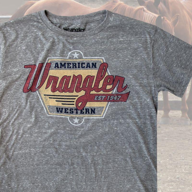 画像1: ラングラー ウエスタン Tシャツ アメリカンウエスタン(半袖)/Wrangler T-shirt
