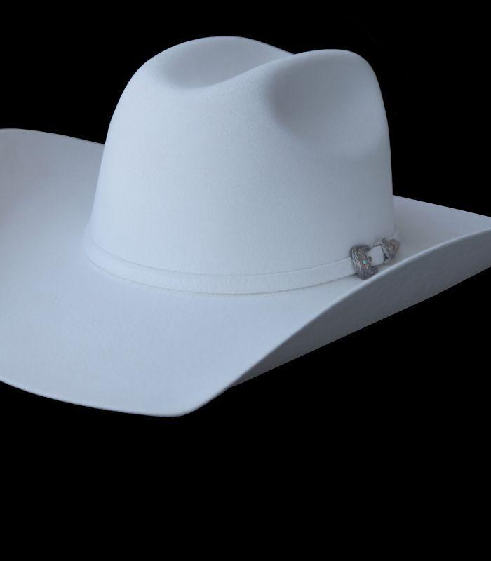 画像2: ブルハイド ファーブレンド フェルト ハット(ホワイト)/Bullhide Fur Blend Felt Hat