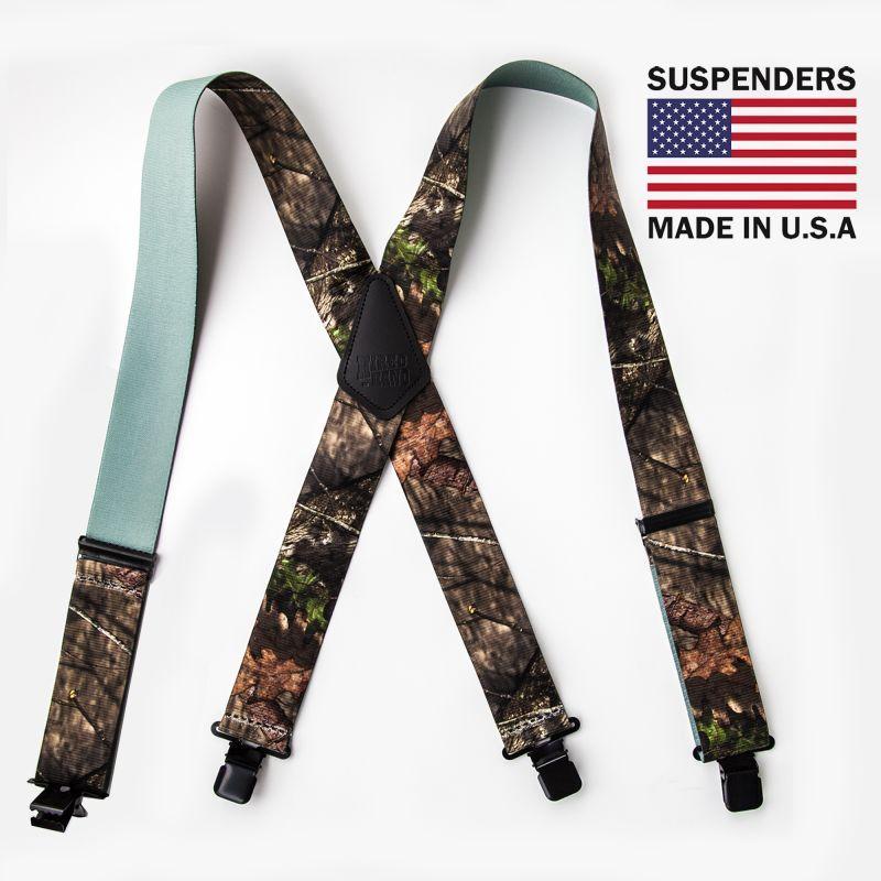画像1: サスペンダー クリップ式(カモ)/M&F Western Products Clip Suspenders(Camo)
