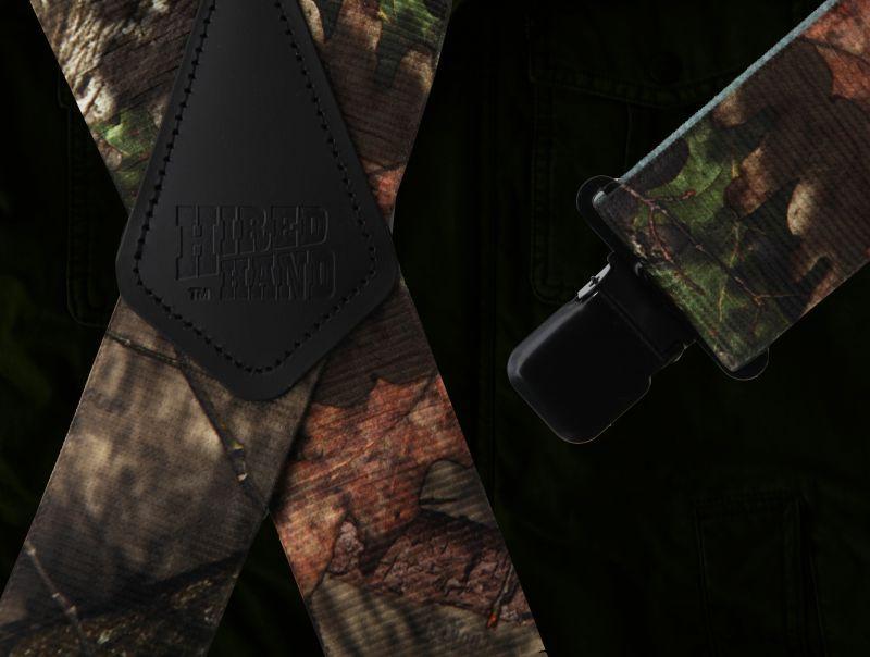 画像2: サスペンダー クリップ式(カモ)/M&F Western Products Clip Suspenders(Camo)