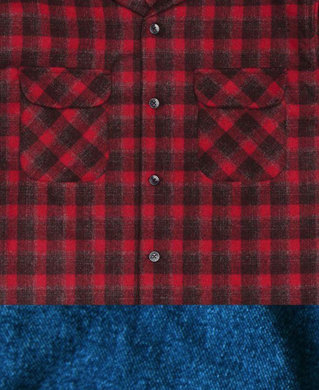 画像2: ペンドルトン バージンウールシャツ ボードドシャツ(ダークレッドプラッド)S/Pendleton Board Shirt(Dark Red Plaid)