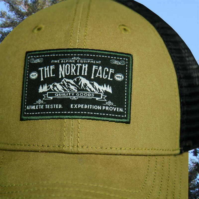 画像2: ザ・ノース・フェイス アウトドア メッシュ キャップ(グリーン・ブラック)/The North Face Tracker Hat