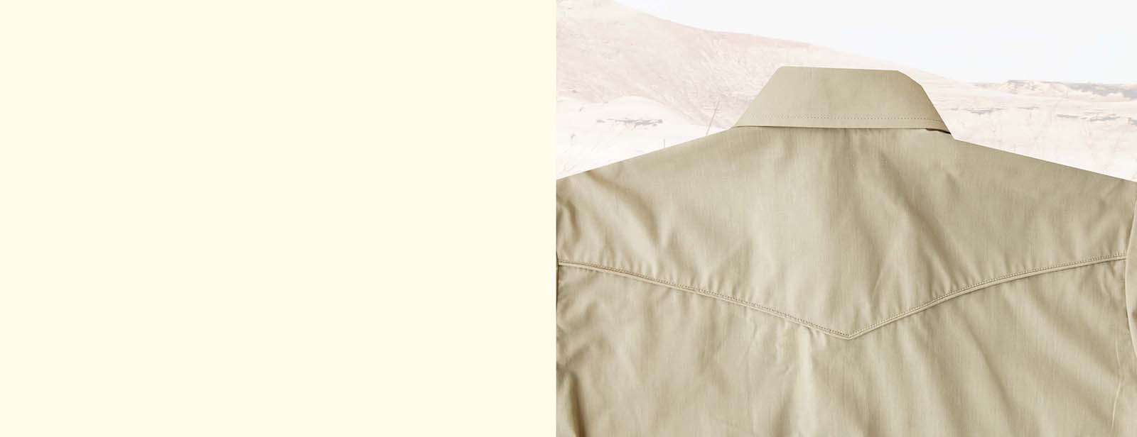 画像2: ローパー 刺繍 ウエスタンシャツ タン(長袖)/Roper Long Sleeve Western Shirt