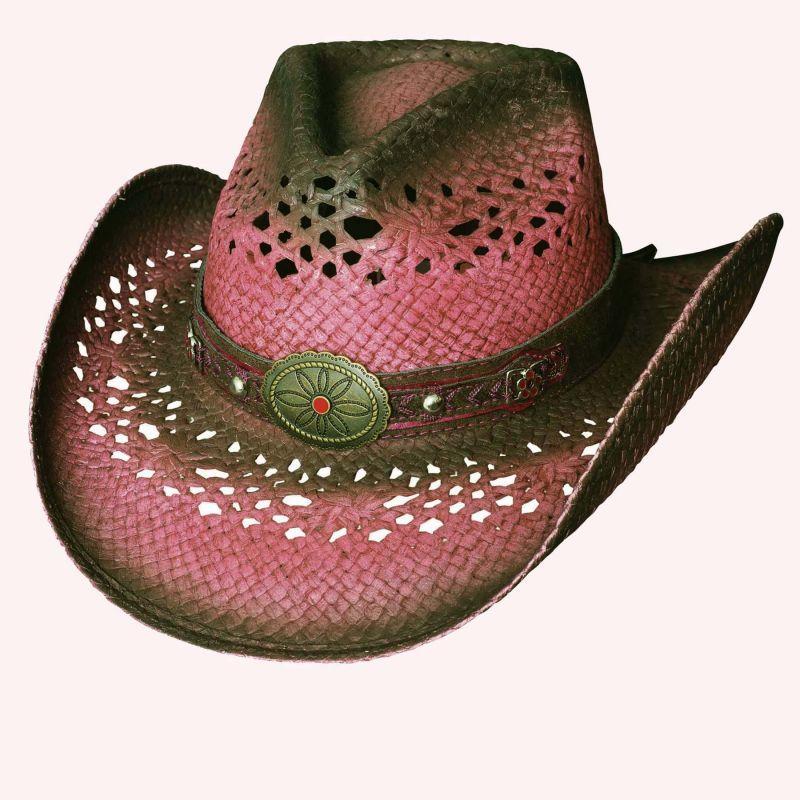 画像1: ブルハイド ウエスタン ストローハット(クローザー)/BULLHIDE Western Straw Hat Closer (1)