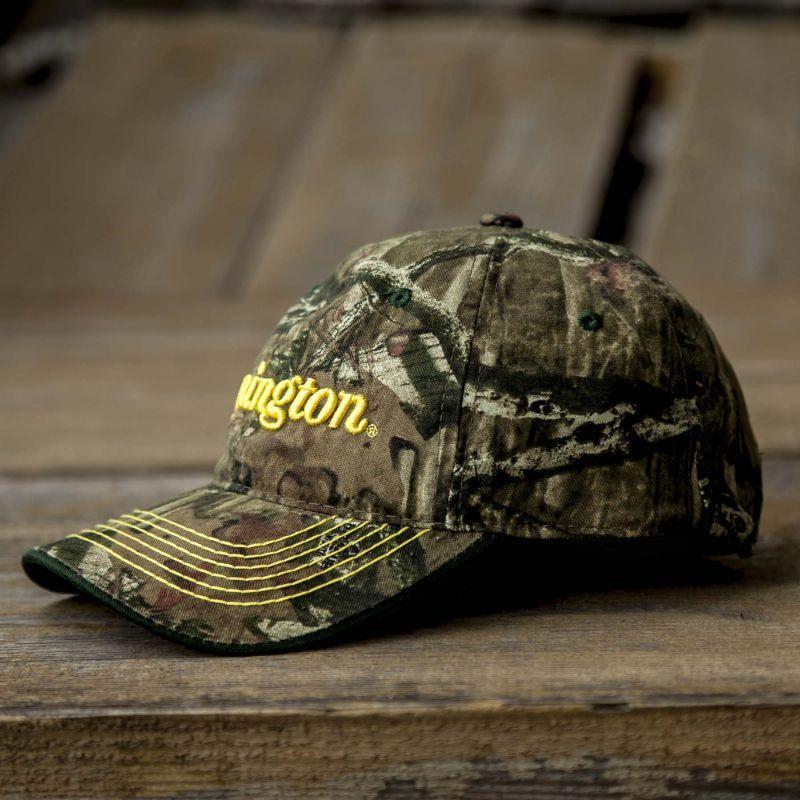 画像2: レミントン 刺繍ロゴ モッシーオーク カモ キャップ/Remington Mossy Oak Break Up Infinity Camo Cap