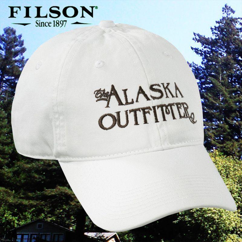 画像1: フィルソン アラスカ アウトフィッターズ キャップ(ホワイト)/Filson Cap (1)