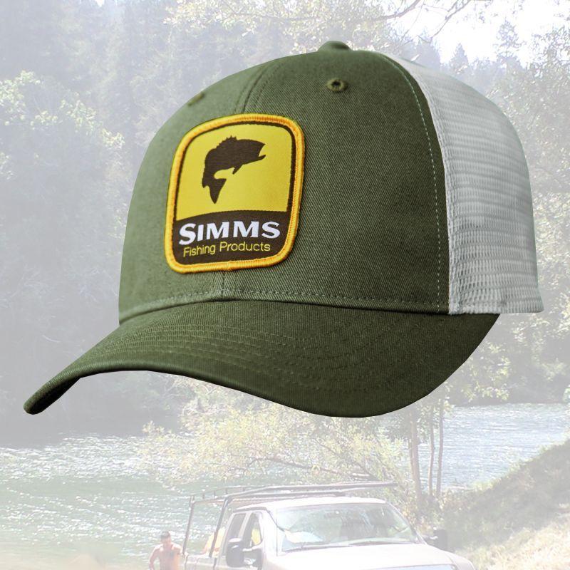 画像1: シムス ロゴパッチ メッシュ キャップ (フォレスト)/Simms Cap(Forest) (1)