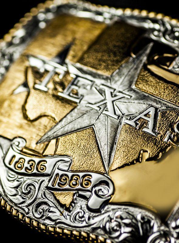 画像2: クラムライン ベルト バックル テキサス/Crumrine Belt Buckle Texas