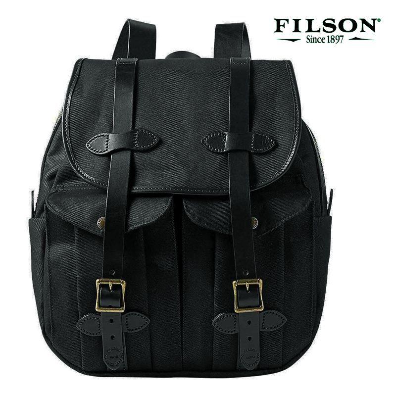 画像1: フィルソン リュックサック(ブラック)/Filson Rucksack (1)
