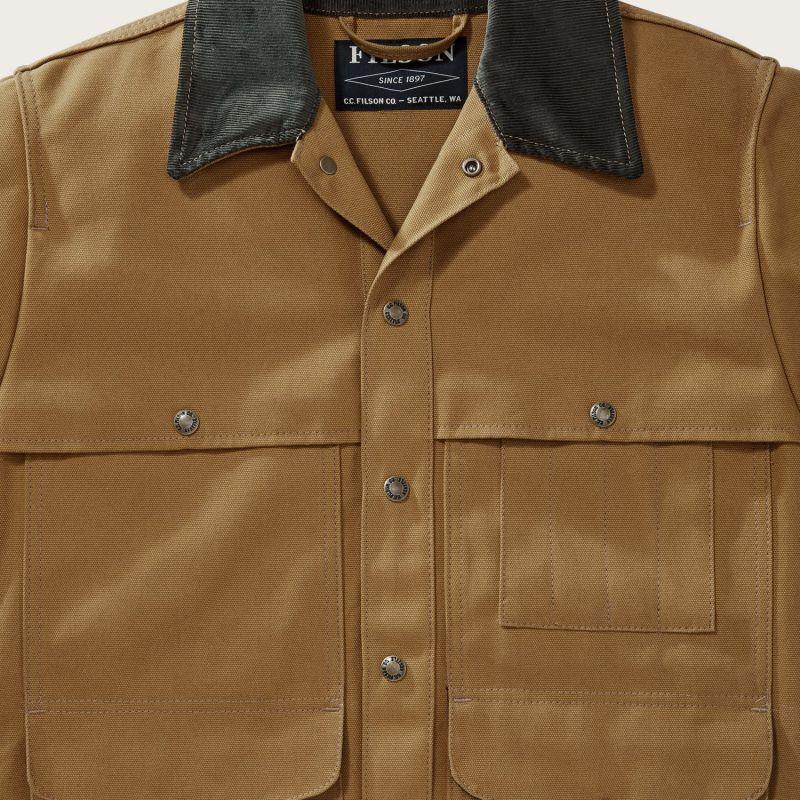 画像2: フィルソン キャンバス クルーザー ジャケット(ウォームタン)/Filson Canvas Cruiser Jacket(Warm Tan)