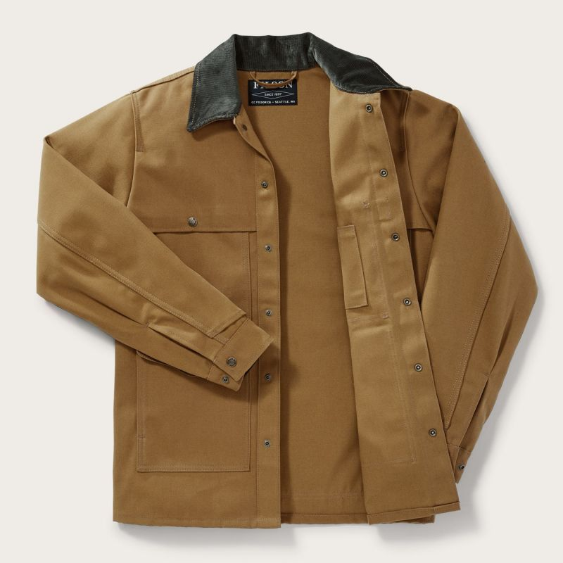 画像3: フィルソン キャンバス クルーザー ジャケット(ウォームタン)/Filson Canvas Cruiser Jacket(Warm Tan)