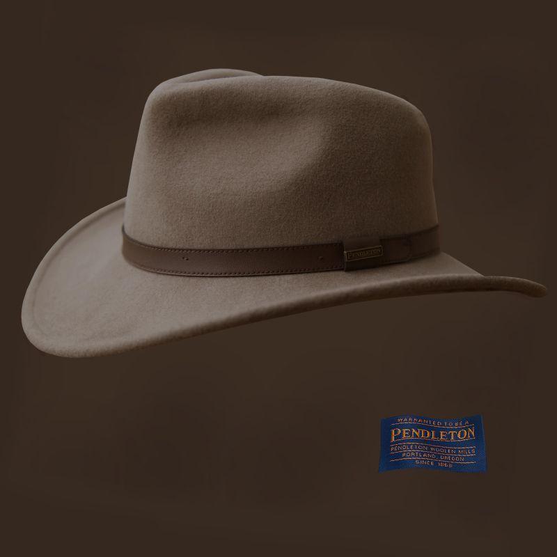 画像1: ペンドルトン アウトバック ハット(パテ)/Pendleton Outback Hat(Putty)  (1)