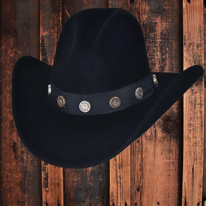 画像2: ブルハイド カウボーイハット ショットガン(ブラック)/Bullhide Cowboy Hat Shotgun(Black)