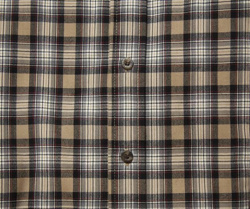 画像3: ペンドルトン サーペンドルトン ウールシャツ(スチュワートキャメルタータン)/Pendleton Sir Pendleton Wool Shirt