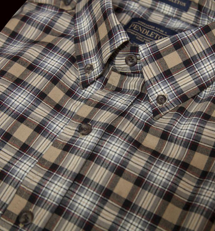 画像2: ペンドルトン サーペンドルトン ウールシャツ(スチュワートキャメルタータン)/Pendleton Sir Pendleton Wool Shirt