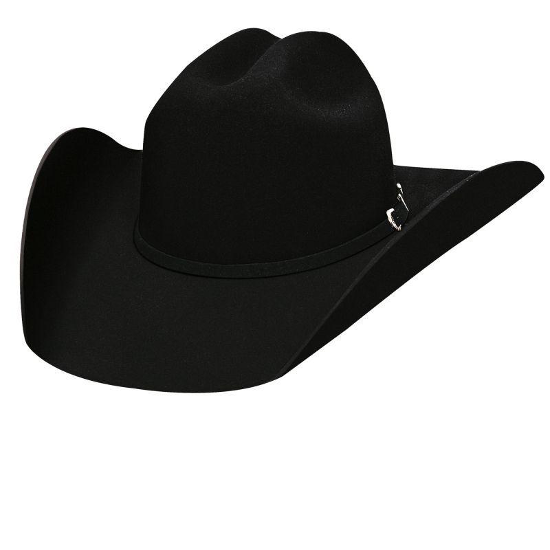 画像1: ブルハイド ロデオ ラウンドアップ プレミアムウールフェルトハット(ブラック)/Bullhide Rodeo Round-Up Wool Felt Hat (1)