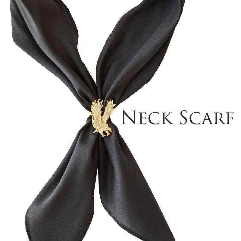 画像1: アメリカンカウボーイタイ ネックスカーフ(チャコール)/Cowboy Tie/Neck Scarf(Charcoal) (1)