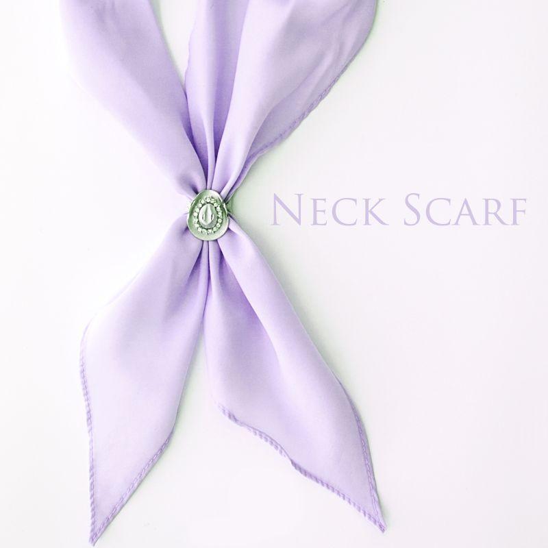 画像1: アメリカンカウボーイタイ ネックスカーフ(ライラック)/Cowboy Tie/Neck Scarf(Lilac)