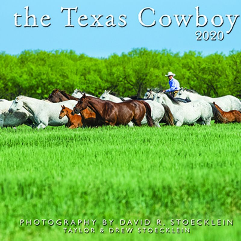 画像1: ウエスタン&ホース カレンダー テキサス カウボーイ/2020 Texas Cowboy Calendar (1)