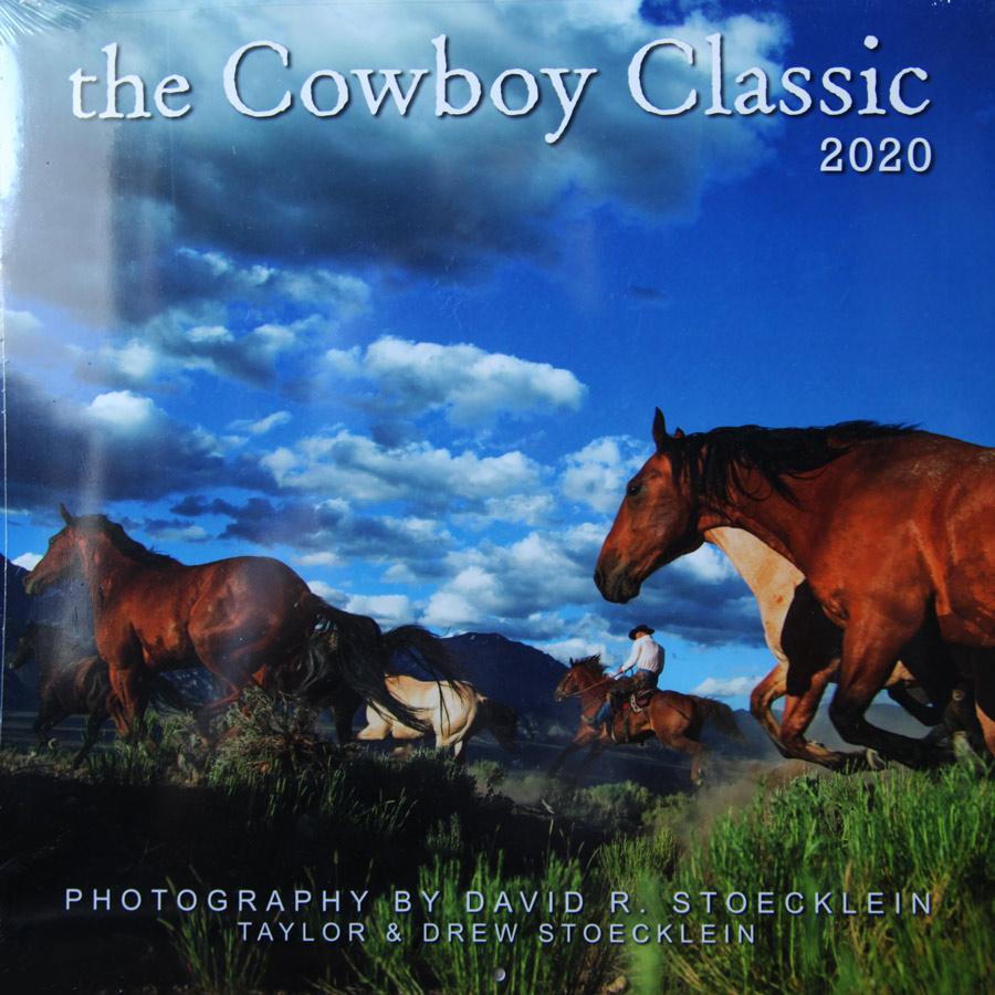 画像1: ウエスタン&ホース カレンダー カウボーイクラシック/2020 Cowboy Classic Calendar (1)