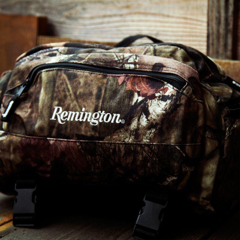 画像1: レミントン 12ポケット モッシーオーク カモ ウエスト バッグ/Remington  Hip Pack (1)