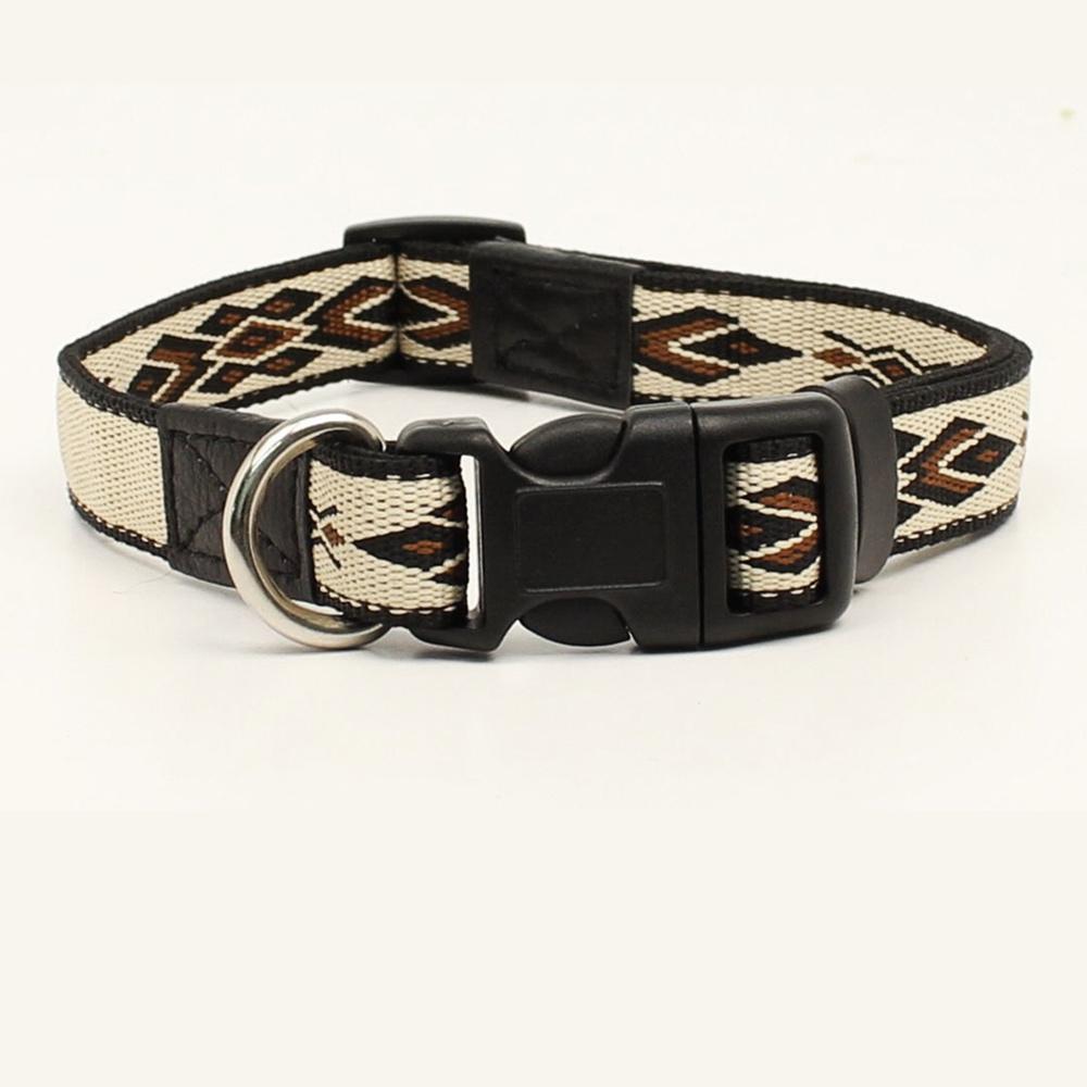 画像1: 犬の首輪・ドッグカラー(サウスウエスト/タン・ブラウン)/Dog Collar (1)