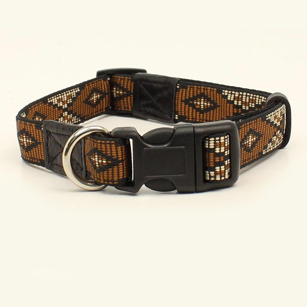 画像1: 犬の首輪・ドッグカラー(サウスウエスト/ブラウン・ブラック)/Dog Collar (1)