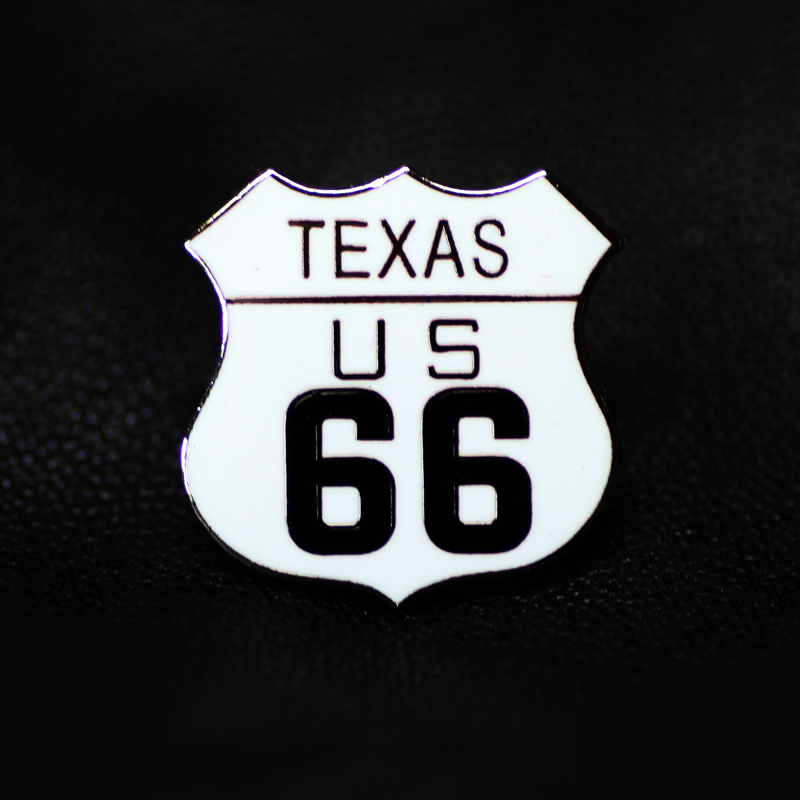 画像1: ルート66 ピンバッジ テキサス/Pin Texas US Route 66 (1)