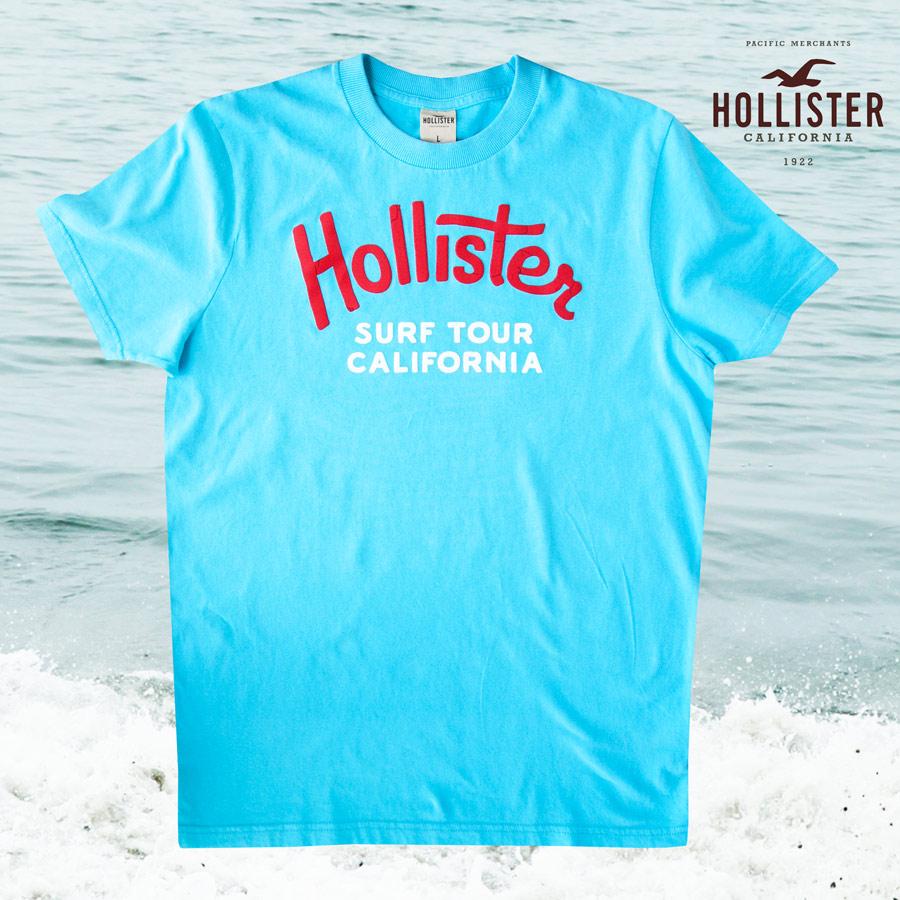 画像1: ホリスター 半袖 Tシャツ ターコイズ・サーフ ツアー カリフォルニアL/Hollister Short Sleeve T-Shirt  SURF TOUR CALIFORNIA (1)