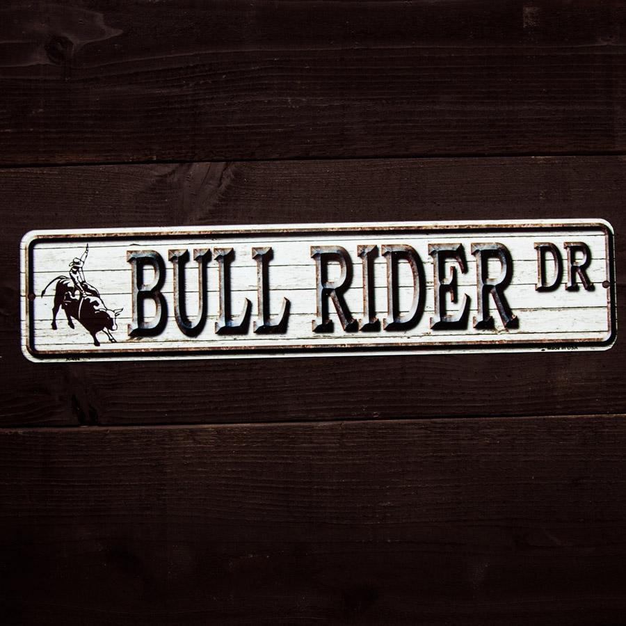 画像1: ブルライダー ドライブ メタルサイン/Metal Sign (1)