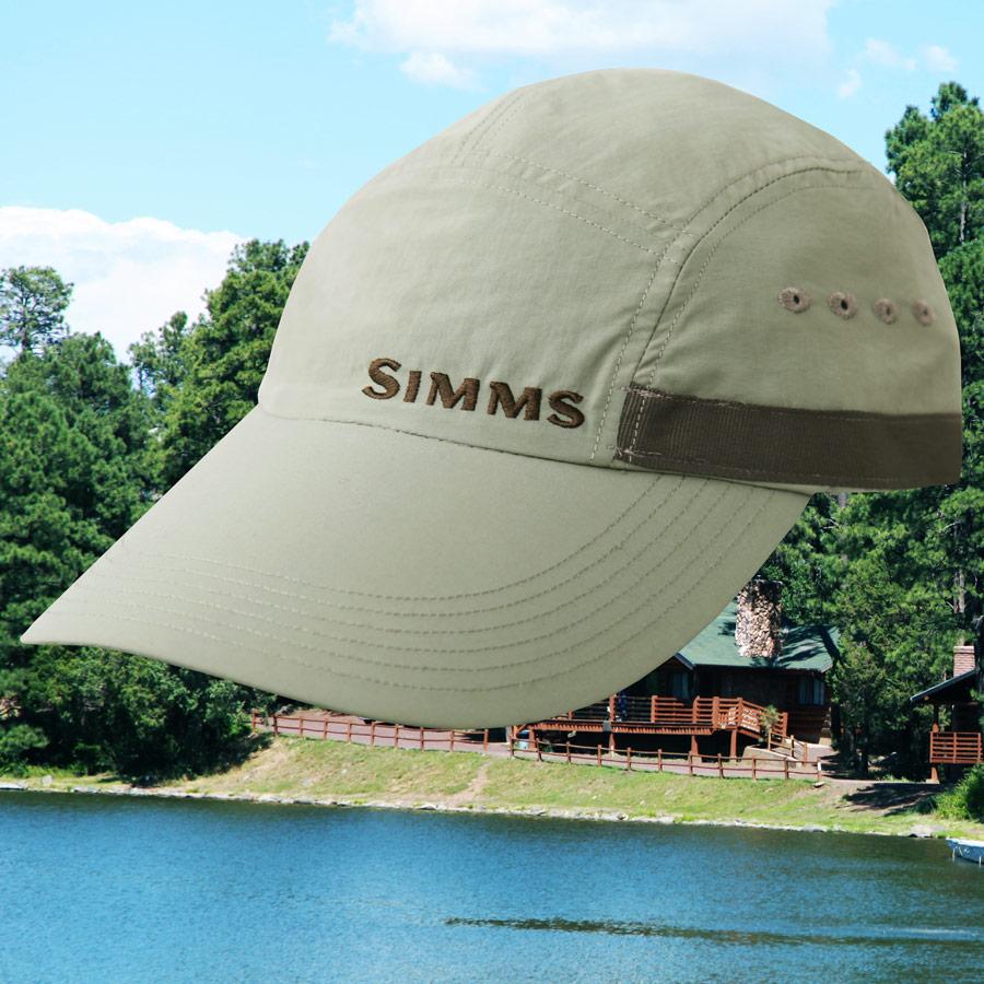 画像1: シムス ロングビル ナイロンシェル キャップ(セージ)/Simms Long Bill Cap(Sage) (1)