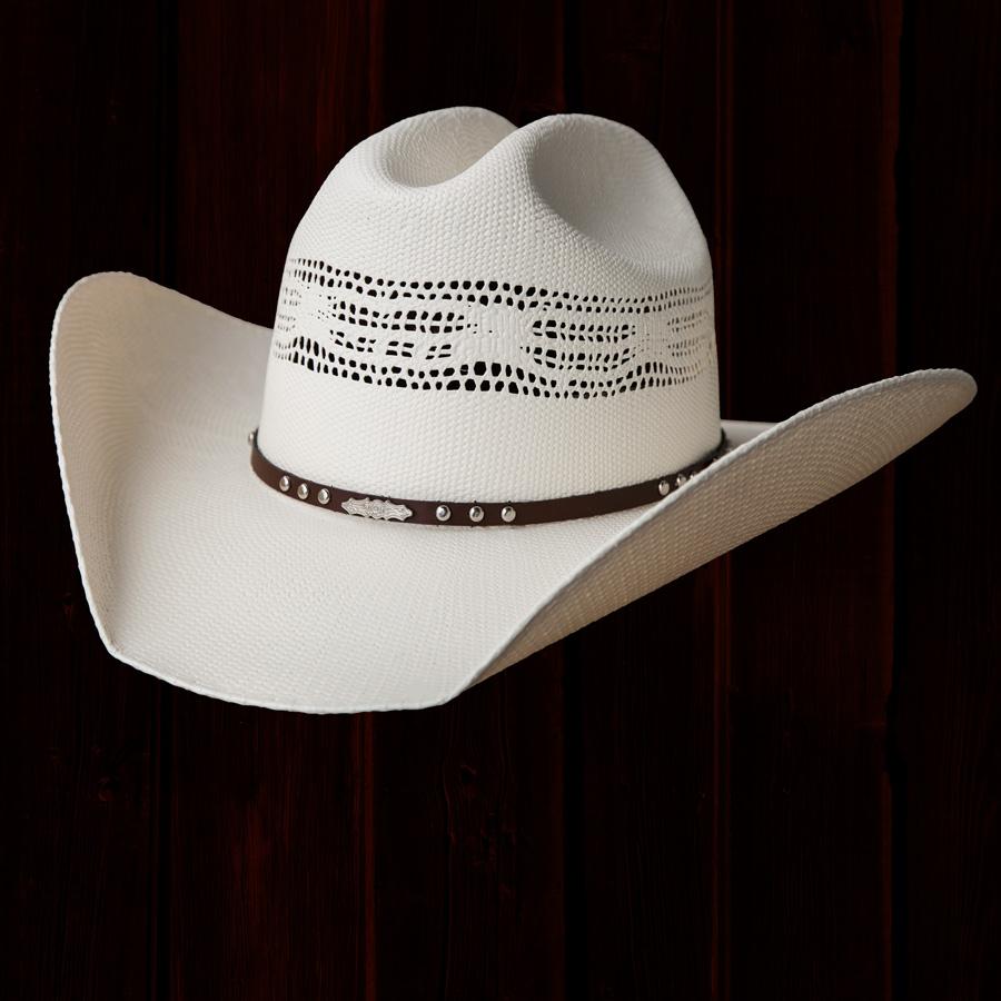 画像1: ブルハイド 20X ウエスタン ストローハット(ナチュラル)57cm・58cm/Bullhide Western Straw Hat(Natural) (1)