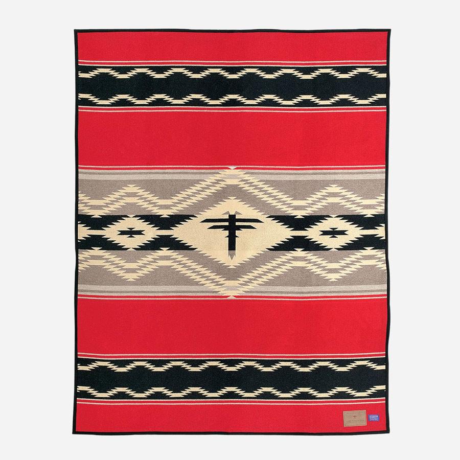 画像1: ペンドルトン ナバホウォーター ブランケット/Pendleton  Blanket(Navajo Water)  (1)