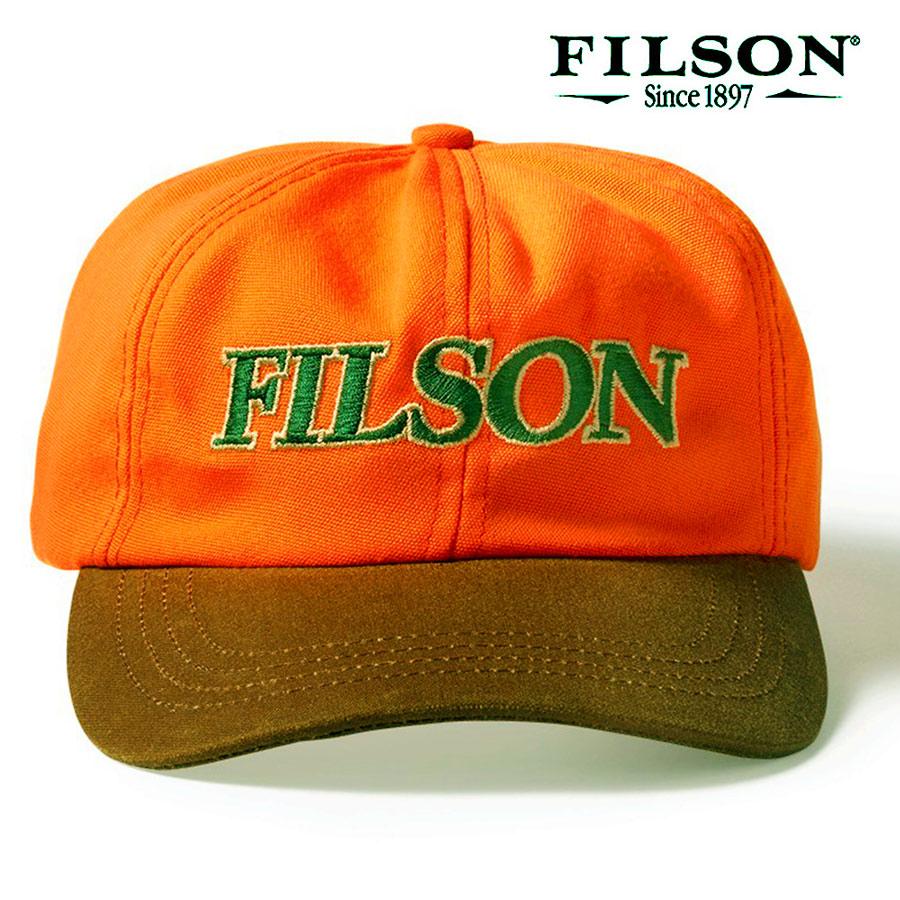 画像1: フィルソン コントラスト キャップ(オレンジ・タン)/Filson Contrast Cap (1)