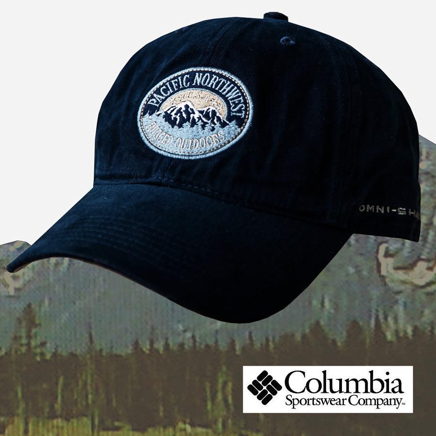 画像1: コロンビア キャップ パシフィックノースウエスト U.S.A・ネイビー/Columbia Cap (1)